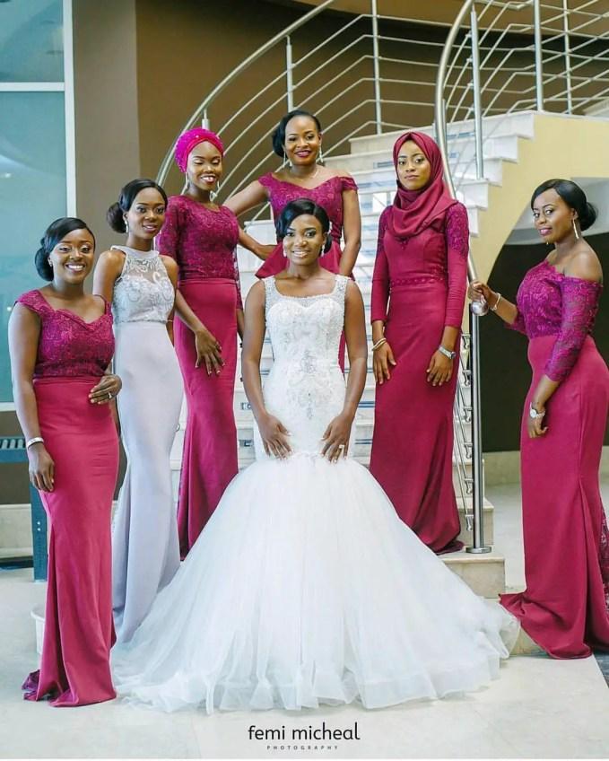 Stunning Head-turning Bridesmaids Dresses