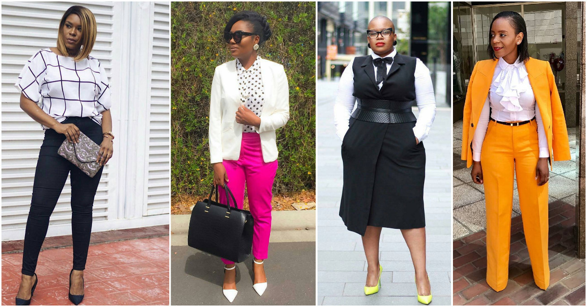 Thrilling Corporate Outfits For The New Week