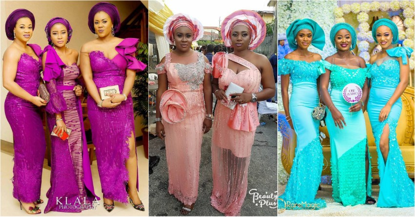 We Love Friends Who Slay The Best Asoebi Styles Together