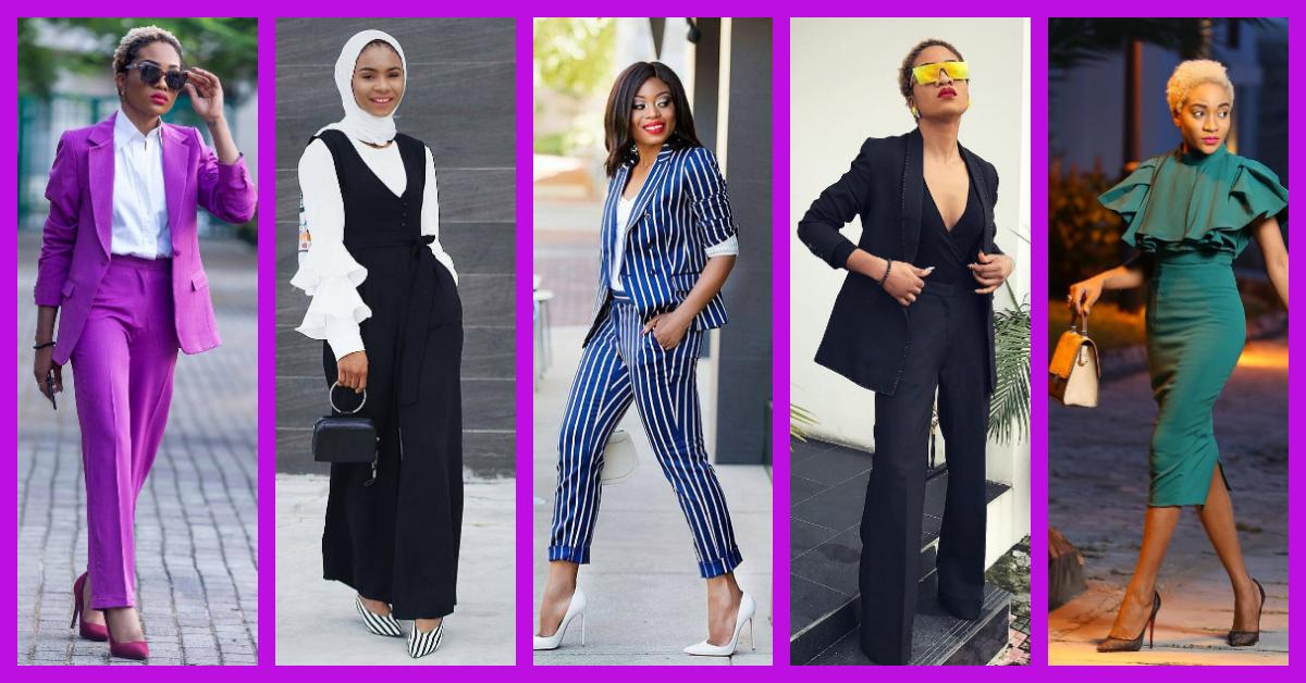 Kill Them At Work In These Onpoint Corporate Outfits