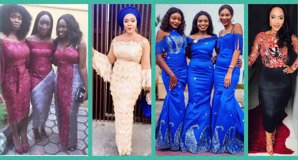 Take A Look At Our Collection Of Unique Fringe Asoebi