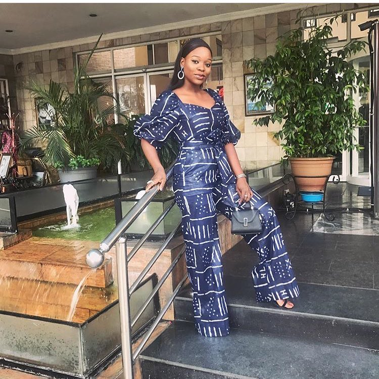 Set The Fashion Pace In These Trendy Latest Ankara Jumpsuits
