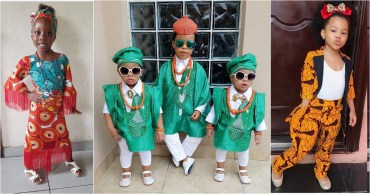 For The Culture: More Kids Fashion For Cultural Day