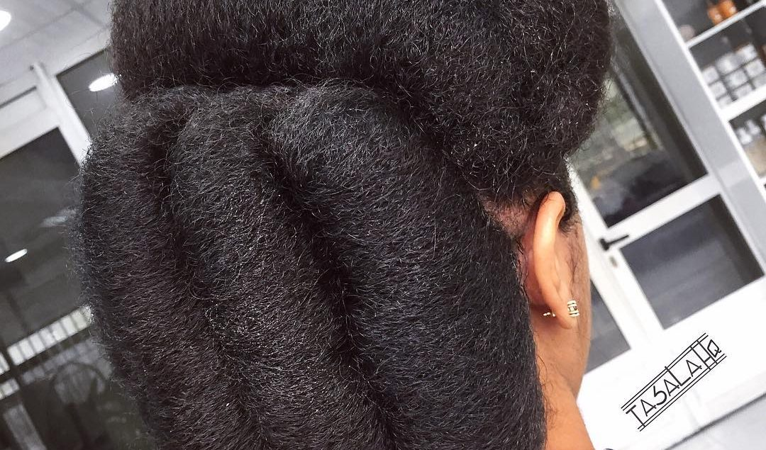 Look Chic In Twisted Buns Hairstyles