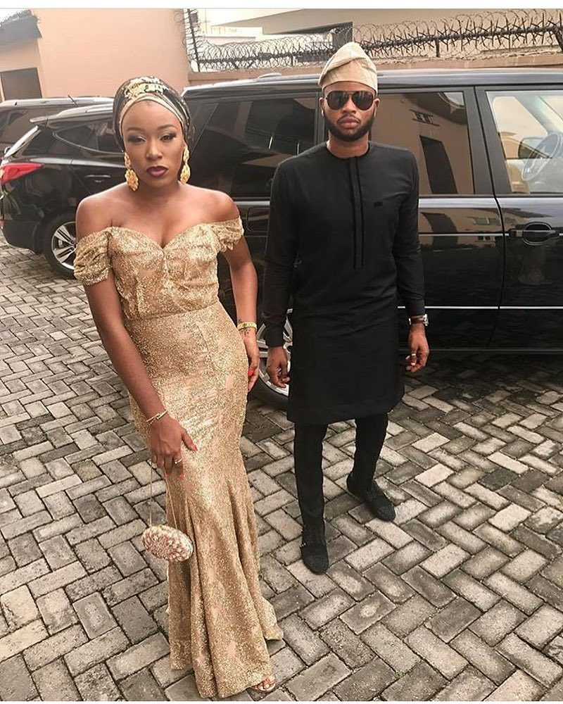 Best Off Shoulder Outfits For Owambe Parties