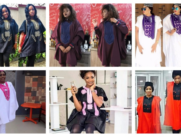 The Ladies Department Does Have The Sexiest Agbada Styles Trend