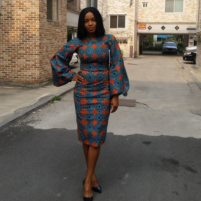 Check Them Out! Beautiful Ankara Dresses To Slay To Work This Friday