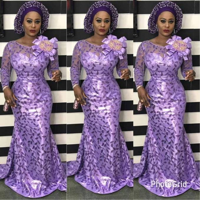 Let's Catch Up On The Stunning Aso Ebi Styles Slayed Over The Weekend