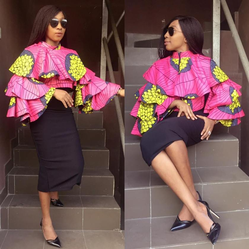 Create A Buzz With These Unique Ankara Tops!