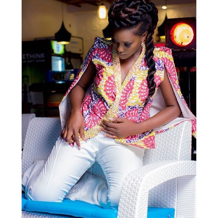 Channel Your African Diva In Sweet Ankara Tops