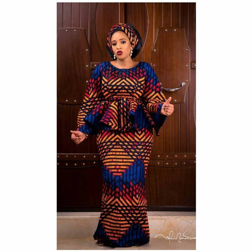 Fabulous Ankara Styles Divas Slay During Tis Christmas Holidays