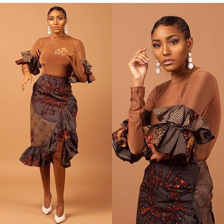 Get Your Freak On In Sweet And Sassy Ankara Styles