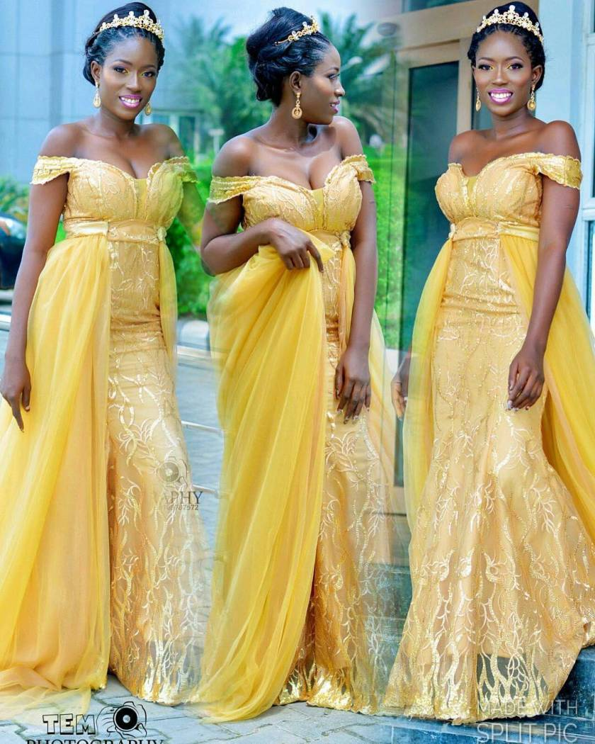 These Bridal Reception Gowns With Trains Are Lit!