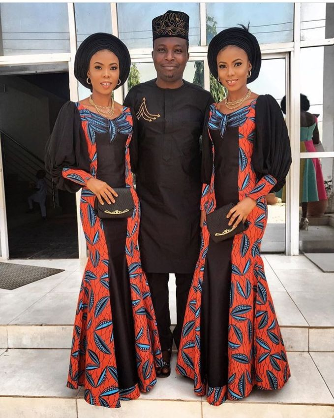 ankara @misstylove x @Kehney amillionstyles - Here are the Best Aso Ebi Styles Of The Week January 6-12 (PHOTOS)