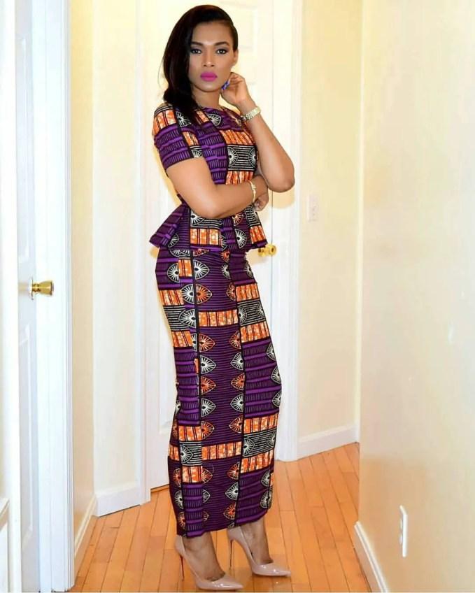 Look On Fleek In These Simple Ankara Styles