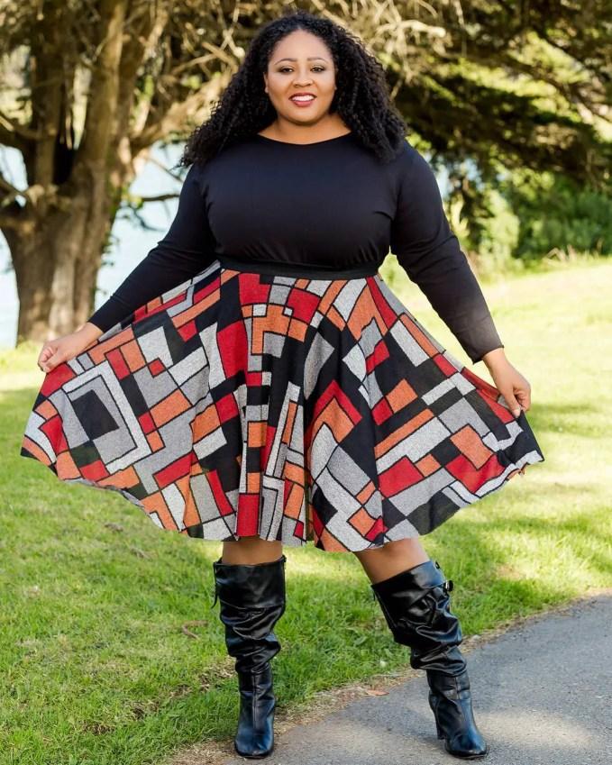 Fashion For The Big, Bold Beautiful Girls ! Lookbook 4