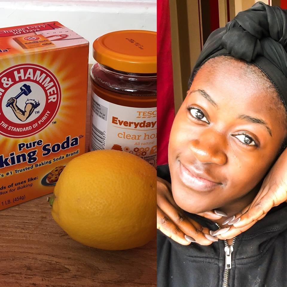 Get A Clean, Fresh Face With This Baking Soda, Lemon, Honey Mask