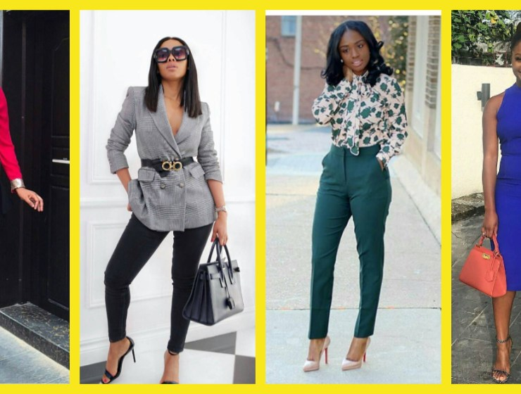 Let These Ladies School You On Stylish Work Outfits
