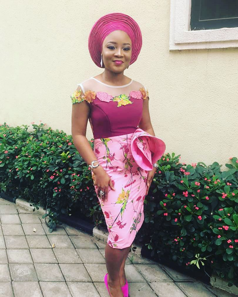 Aso Ebi Styles Perfectly Cut For The Fashionista-The Professional Style.
