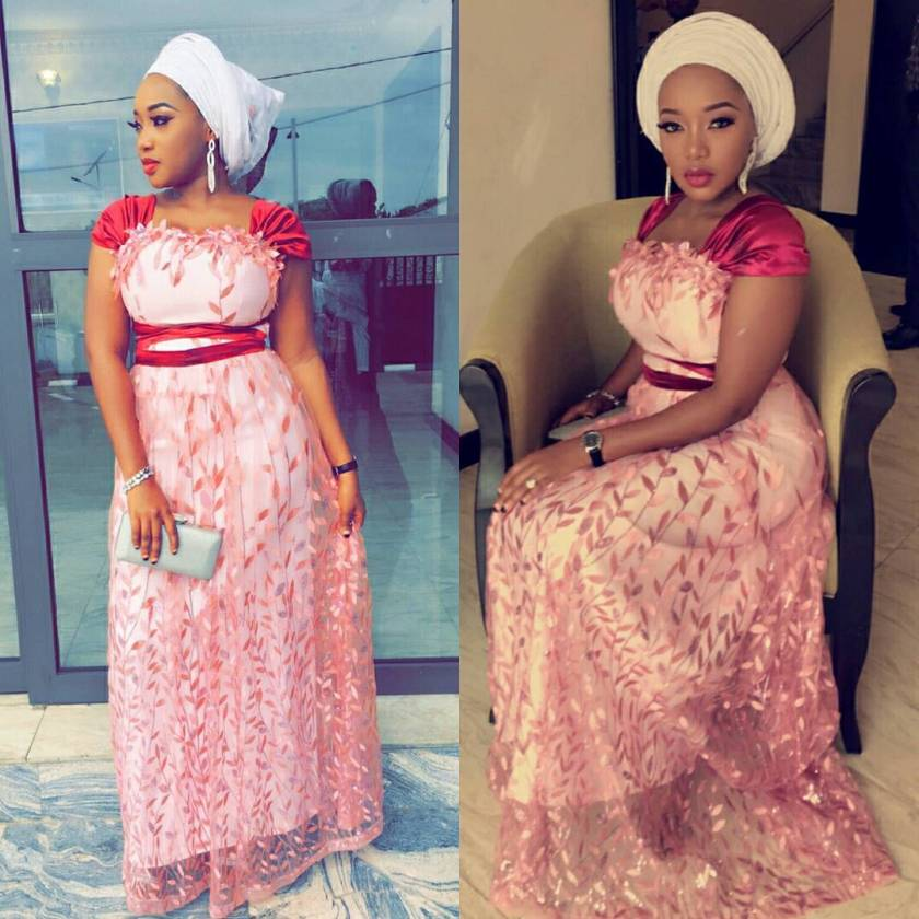 These Sexy Lace Asoebi Styles Are Sugar And Spice, Everything Nice!