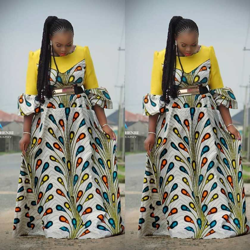 We Serve Only The Sweetest Ankara Looks Here