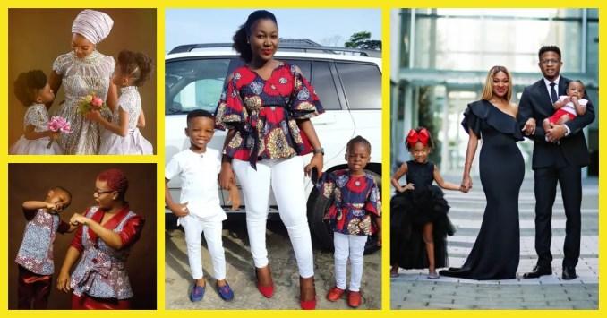 Cute Kids-Parents Fashion Twinning Styles Lookbook 10