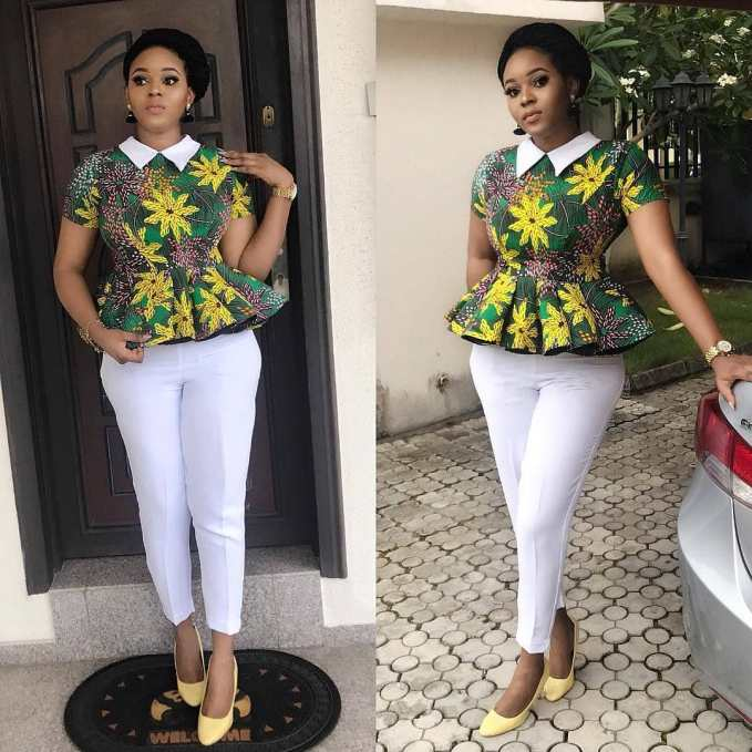 Head Turning Ankara Styles For Your Casual Slay