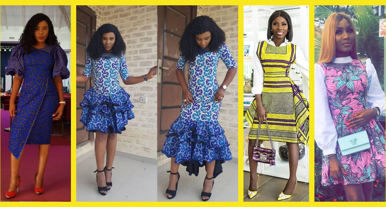 Look Elegant In These Lovely Latest Ankara Styles