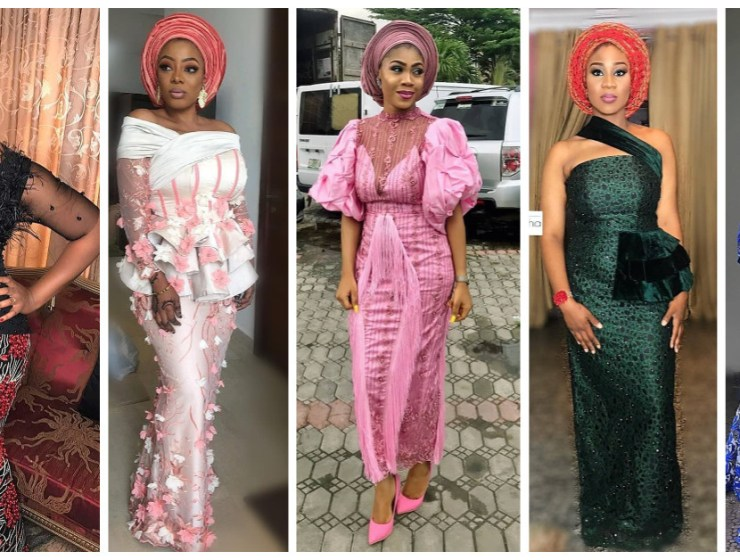 You'll Drool When You See These Popping Lace Asoebi StylesYou'll Drool When You See These Popping Lace Asoebi Styles