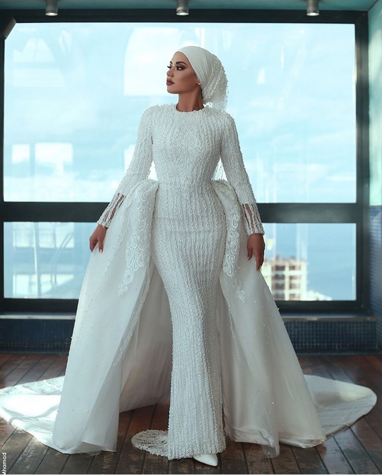 Wedding Dress Inspiration For The Muslim Bride