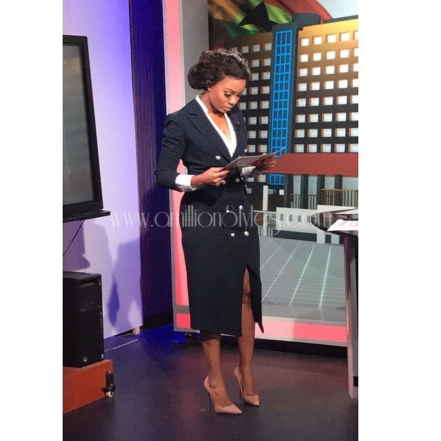 Let's Do Corporate Dress Style This Monday With Serwaa Amihere