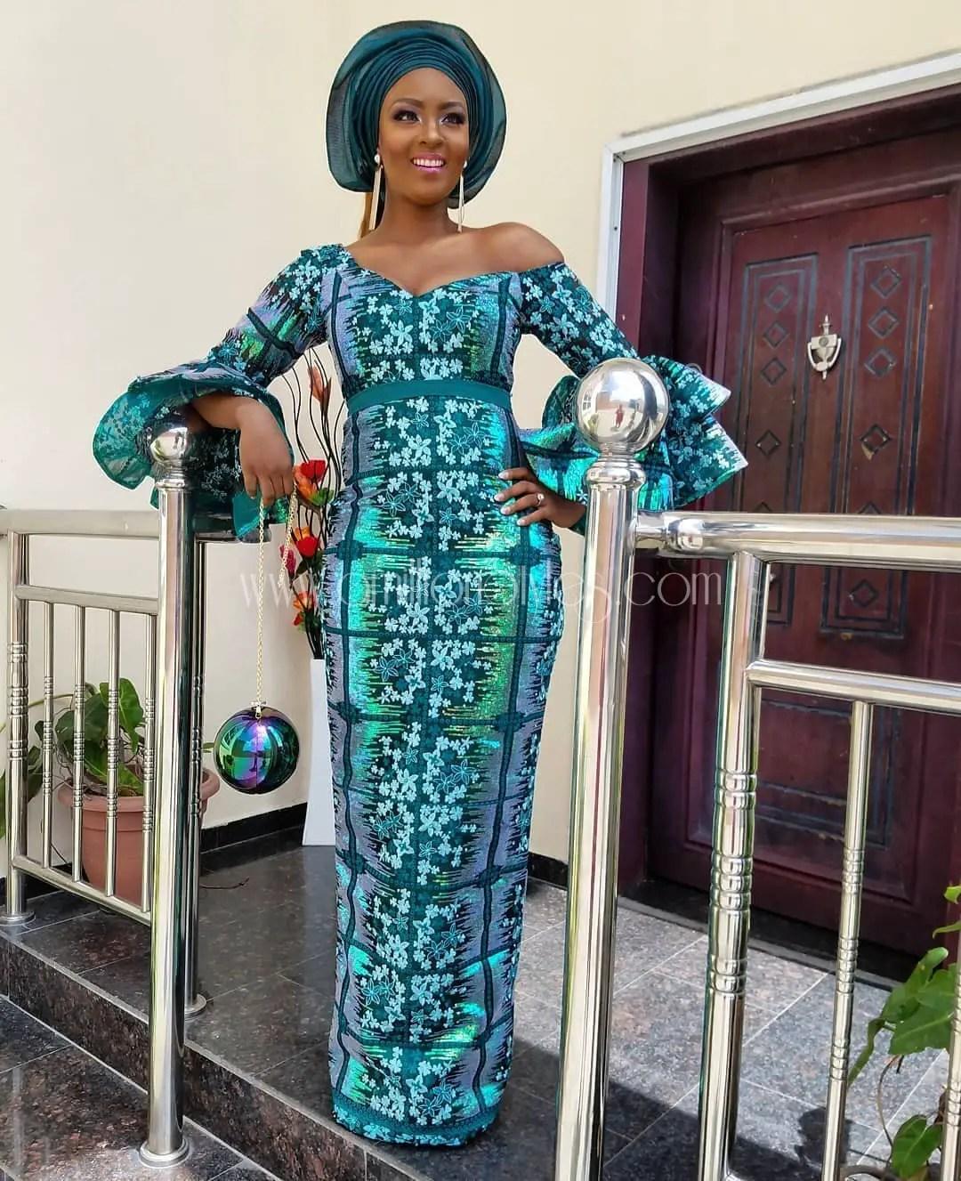Absolutely Gorgeous Asoebi Outfits At Zainab Balogun\'s Traditional ...