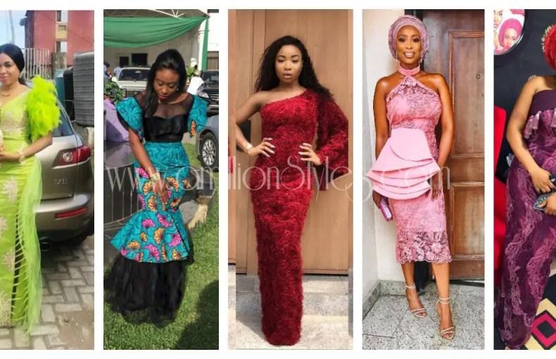 Trendy Lace Asoebi Styles