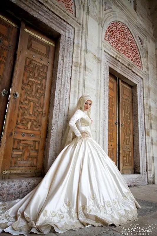 Wedding Dress Inspiration For The Muslim Bride