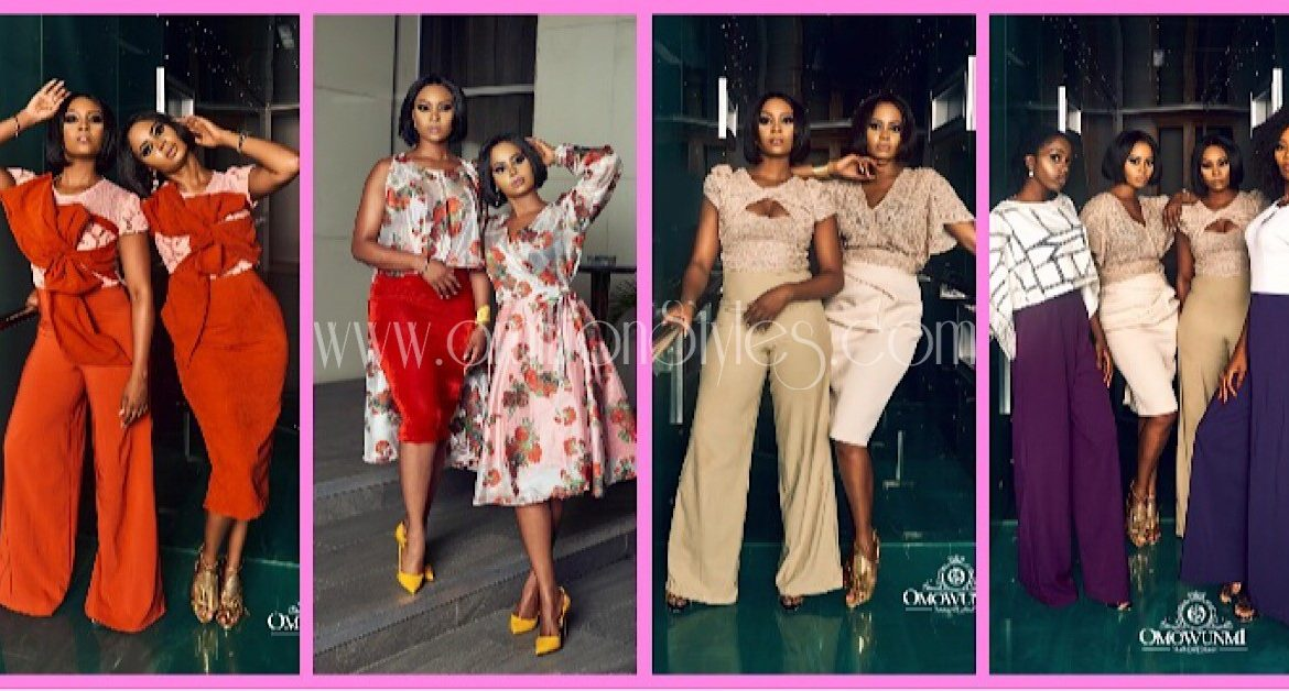 It's Blazing Hot As Osas Ighodaro Models For Omowunmi Akinnifesi's New Lookbook