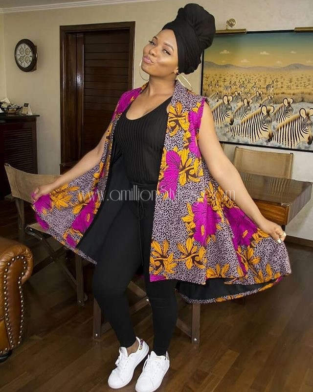 Learn Different Ways To Wear Ankara From Mama Africa Herself, Yemi Alade