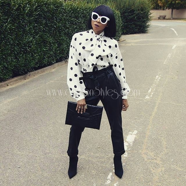 Ten Beautiful Style Inspiration On How To Wear Black And White