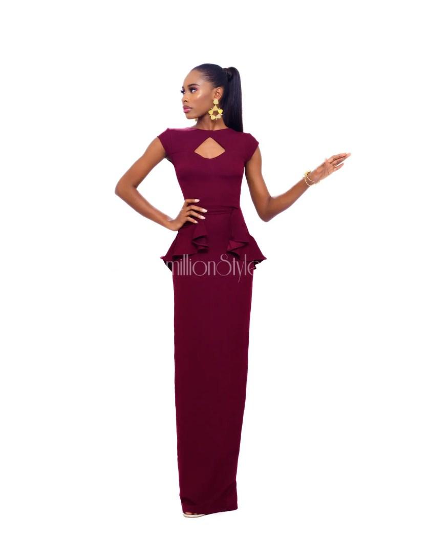 Stunning Model Aduke Is The Muse For Jewel Jemila Elegant-Serenity Collection