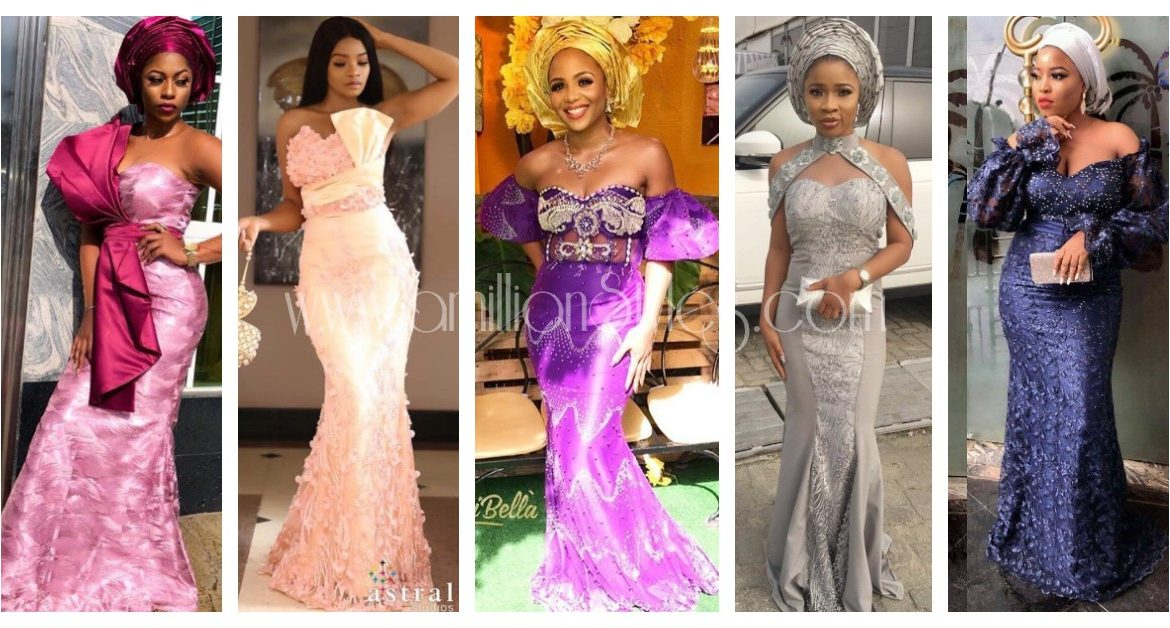 Get Style Ideas From These Mid-Week Latest Asoebi Styles