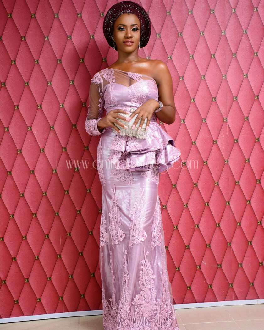 Dashing Lace Asoebi Styles We Saw Over The Weekend