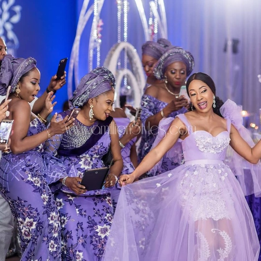 Have Your Girls Green With Envy In These Classy Wedding Reception Styles