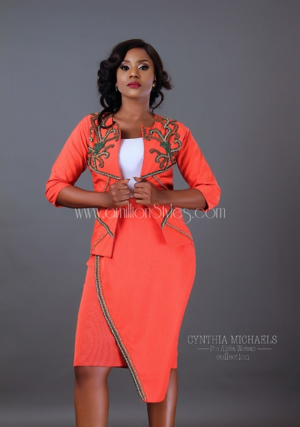 Nigerian Fashion Brand Cynthia Michaels Presents The Alpha Woman Lookbook