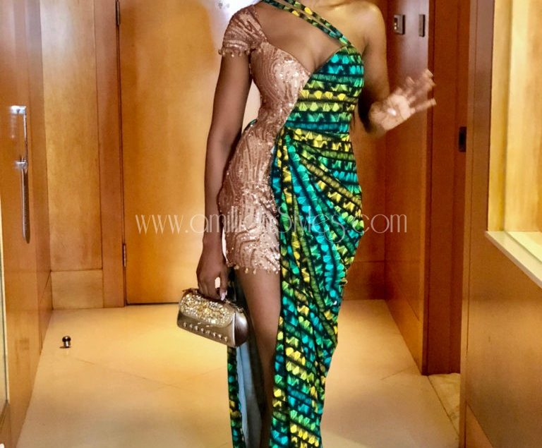 We Can't Get Over Sharon Ooja's Gorgeous Look To The Premiere Of The Movie 'Lara And The Beats'