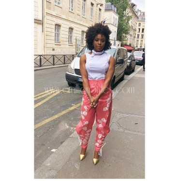 Chimamanda Adichie Steps Out In Ladunni Lambo For Christian Dior's Haute Fashion Show