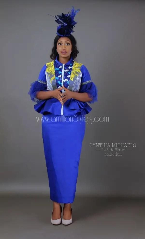Nigerian Fashion Brand Cynthia Michaels Presents The Alpha Woman Lookbook