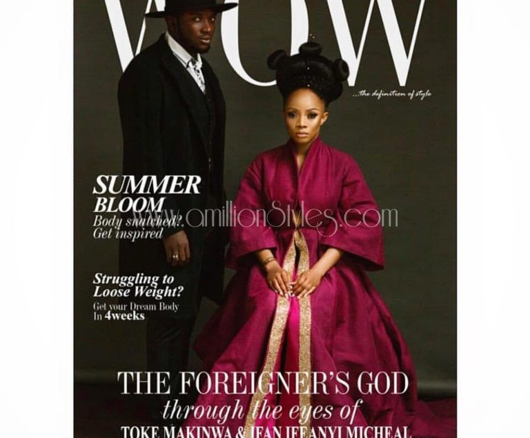 Toke Makinwa Chanels Her Inner Nubian Queen In This Cover For Wow Magazine