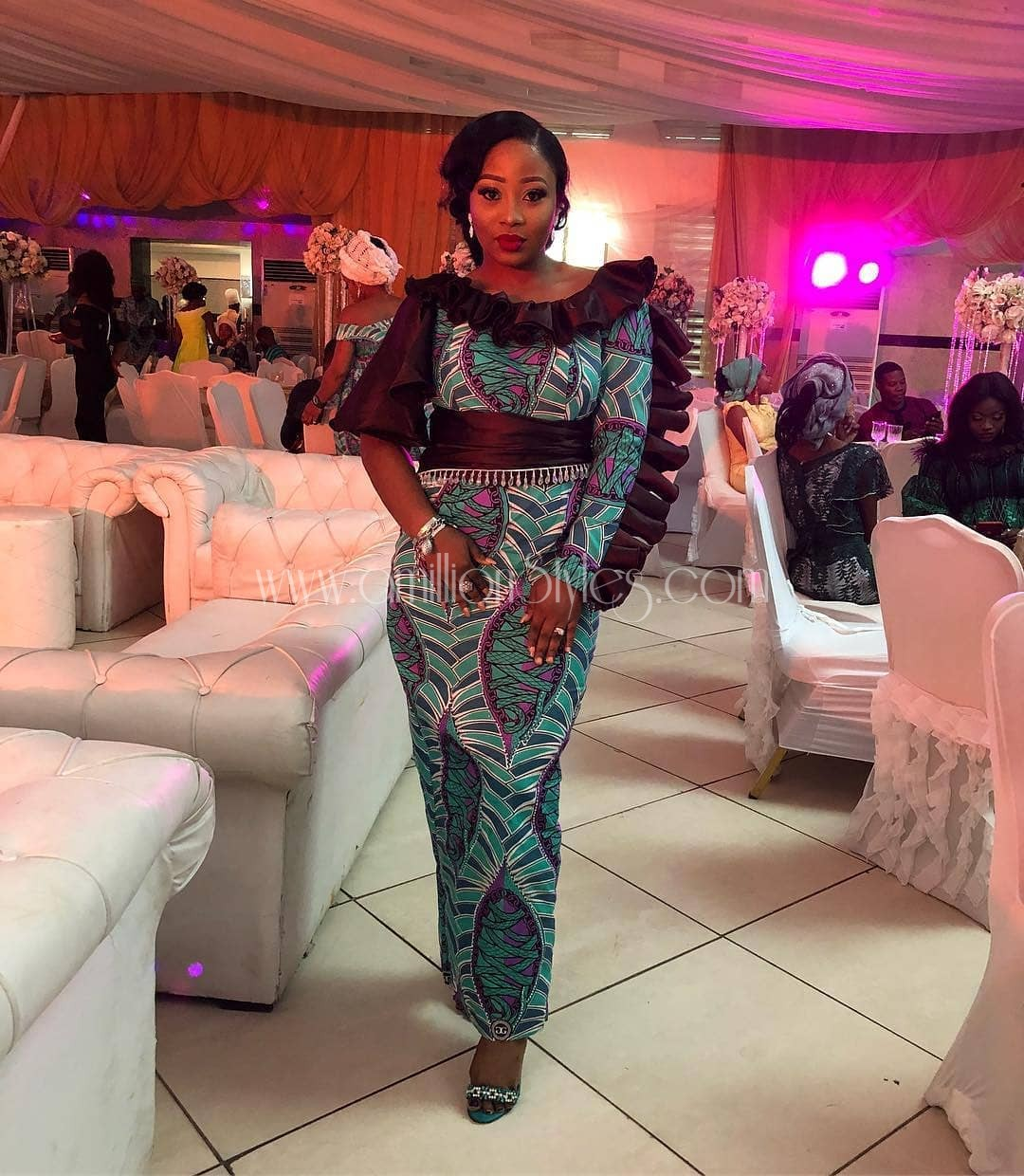 12 Stylish Ankara Looks That Will Show The World Your Sense Of Style!