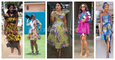 11 Short, Long Trendy Ankara Dresses