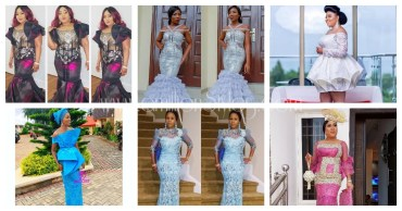 You Strut When Wearing The Loveliest Lace Asoebi Styles
