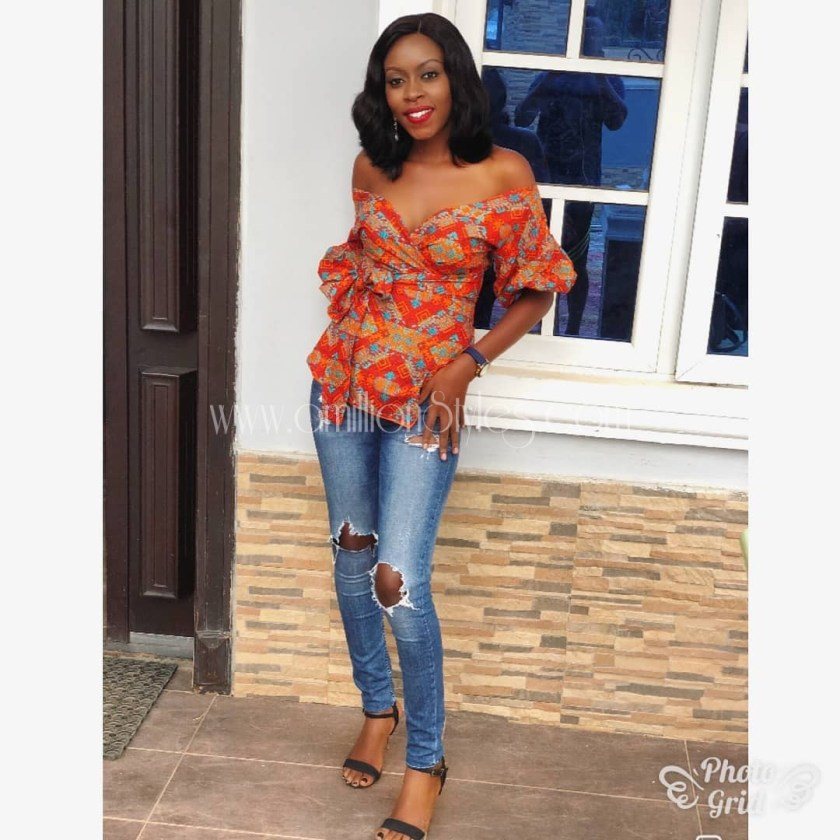 10 Ankara Tops That Are Just Too Cool!